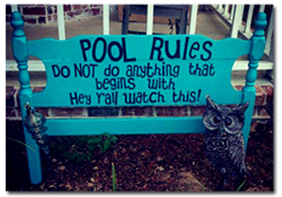 Home Pool Rules | Safe Solutions of New England